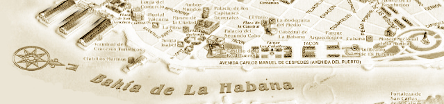 Old Havana Pictures .com - Old Havana Map